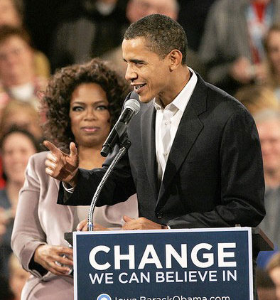 PHOTO: Oprah and Obama