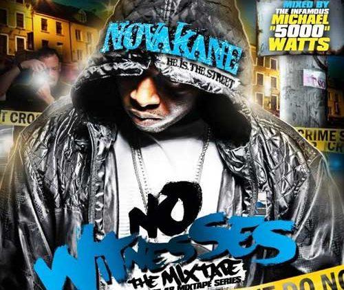 Novakane – The 1st 48 Vol. 1: No Witnesses Mixtape Cover