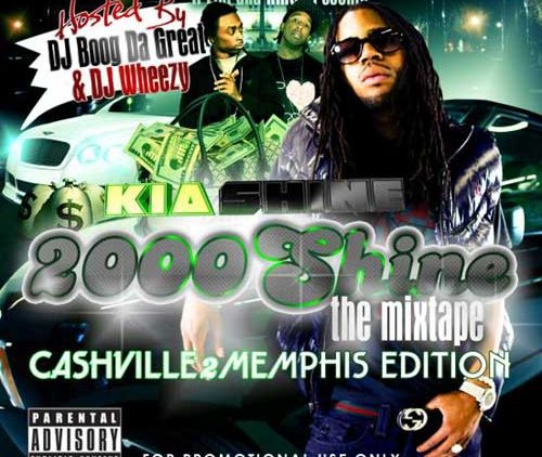 DJ Wheezy And Boog Da Great Presents Kia Shine 2000SHINE mixtape album cover