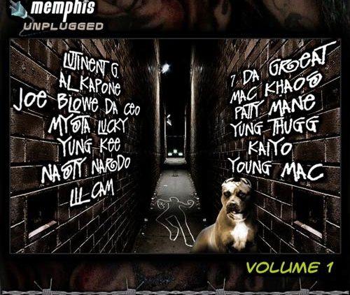 Memphis Unplugged Vol. 1 Mixtape cover