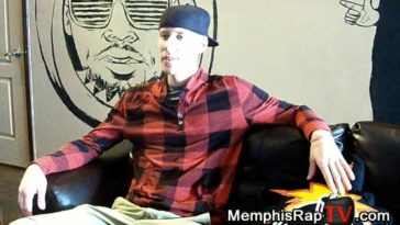 PHOTO: Rapper Dizzy D on Memphis Rap TV