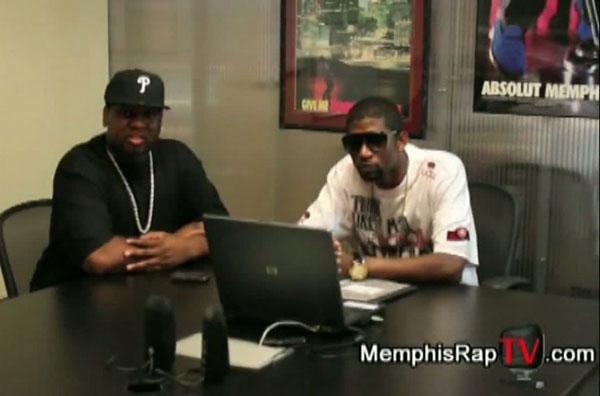 PHOTO: Teflon Don Miami Mike on Memphis Rap TV
