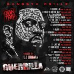 Don Trip Guerrilla mixtape back cover