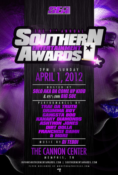 9th Annual Southern Entertainment Awards & Conference poster