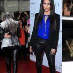 PHOTO: Kim Kardashian flour bomb