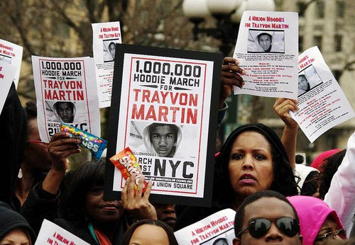 PHOTO: Trayvon Martin hoodie march protest
