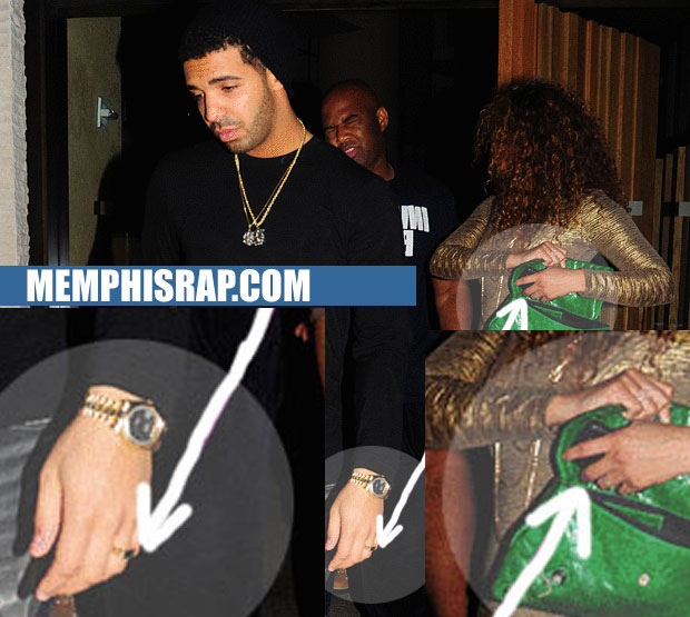 PHOTO: Drake Wedding Ring PICTURES