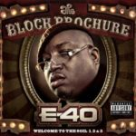 PHOTO: E-40 The Block Brochure Album cover art