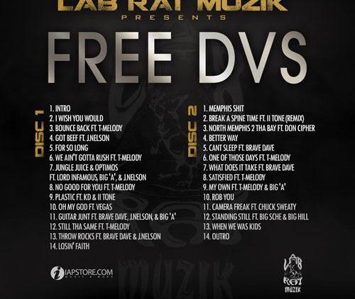 Mack DVS – FREE DVS Mixtape back cover art