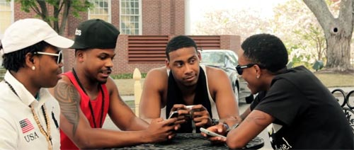 Photo – R&B music group 4 Real One Night music video