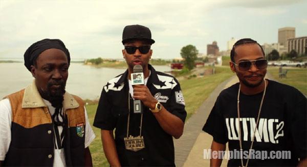 Photo – Drumma Boy, Playa Fly and Junior Reid with MTV Mixtape Daily