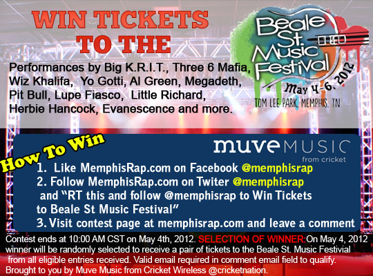 CONTEST: Win Tickets To Memphis In May Beale Street Music Festival