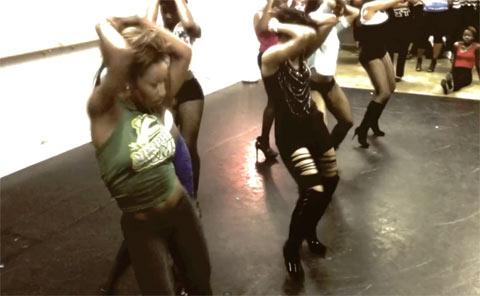 Photo - Brandee Evans Hip Hop N Heels Women's Dance Class