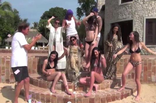 Photo of Kardashians Biggie cover in Dominican Republic