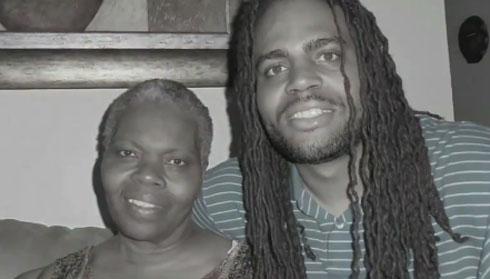 PHOTO: Kia Shine and his Mother