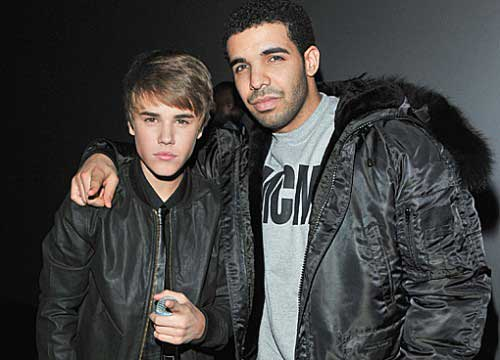 Photo of Justin Bieber and Drake
