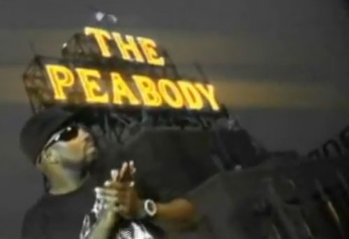 Photo of AP Appleberry in Peabody music video