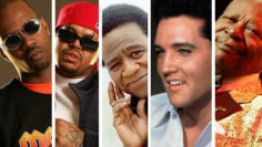 Photo – Three 6 Mafia, Al Green, Elvis Presley, BB King Memphis Music Hall of Fame