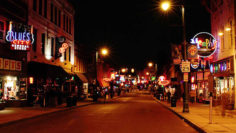 Photo – Beale Street entertainment district