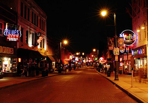 Photo – Beale Street entertainment district