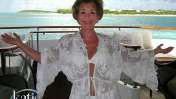 Photo of Judge Judy in bikini lingerie