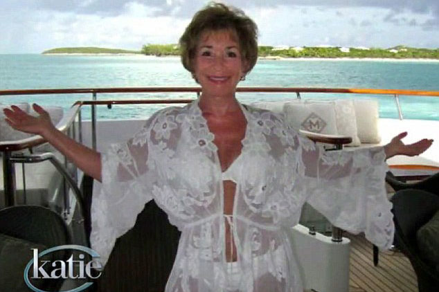 Photo of Judge Judy in bikini lingerie