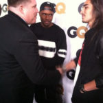 Photo of Frank Ocean and boyfriend Willy Cartier on GQ red carpet?