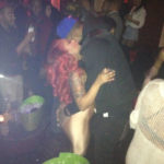 Photo of J.R. Smith hands on K. Michelle booty, hugging