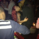 Photo of J.R. Smith and K. Michelle at Kiss and Fly Club in NY