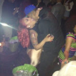 Picture of J.R. Smith and K. Michelle at Kiss and Fly Club in NY