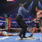 Photo of Juan Manuel Marquez knock out of Manny Pacquiao