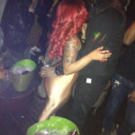 Photo of K. Michelle, J.R. Smith at Kiss and Fly Club in NY