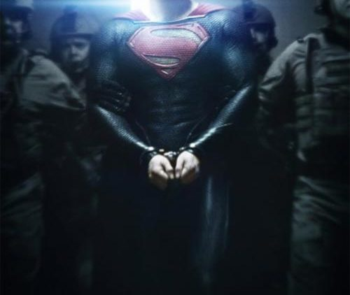 Photo – Superman Man of Steel movie cover