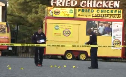 2 Men Arrested In Double Shooting Outside Uncle Lous Fried Chicken