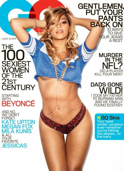 Picture of Beyonce Sexy 2013 GQ Magazine Cover Photo