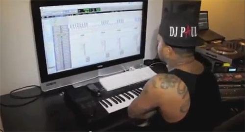 Video: DJ Paul Making The Beat - G'd Up (Prod By J-Green x DJ Paul)
