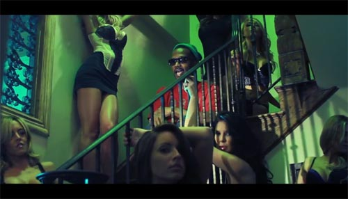 Juicy J in the music video for She Dancin