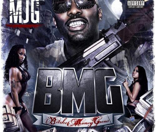 MJG Bitches Money Guns mixtape cover