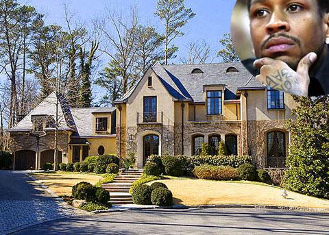 Photo of Allen Iverson Foreclosed Atlanta Home
