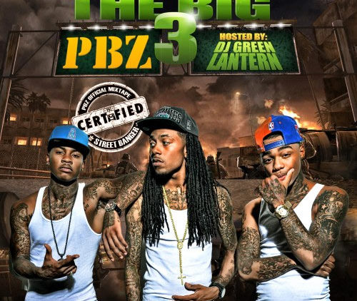 PBZ – The Big 3 Mixtape Cover