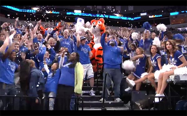 Memphis Tigers Harlem Shake Video