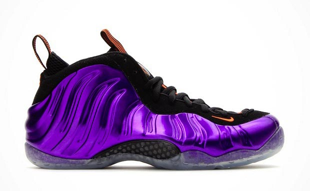 Nike Foamposite One Electro Purple/Total Orange – Phoenix Suns