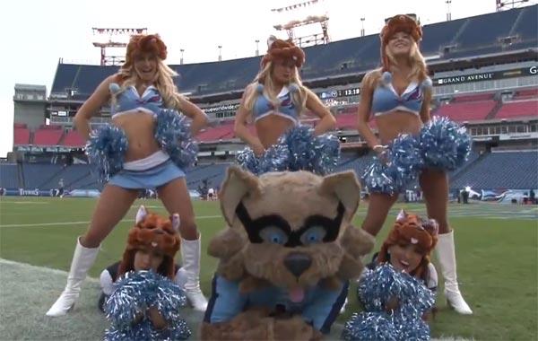 Tennessee Titans Cheerleaders Video Gangnum Style