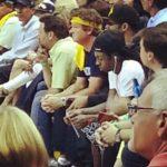 Photo of Lil Wayne Courtside at Memphis Grizzlies OKC Game at FedExForum 2