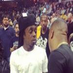 Photo of Lil Wayne, Yo Gotti at Memphis Grizzlies OKC Game at FedExForum