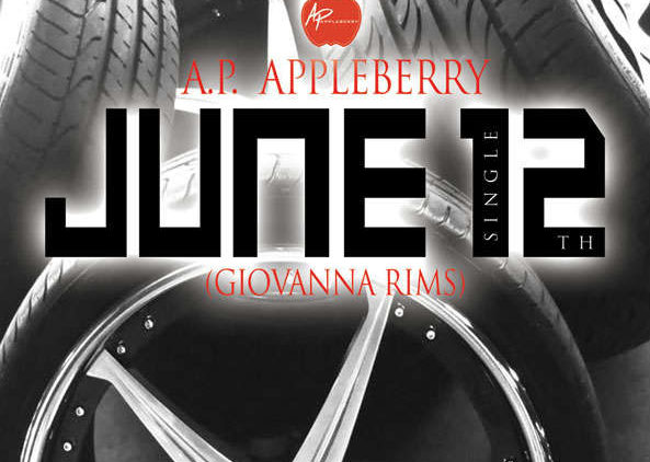 A.P. Appleberry – June 12th (Cover Artwork)