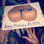 Memphis Grizzlies Austin Daye Booty Birthday Cake