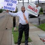 Corey Maclin Campaigning - Radio, TV, Wrestling Personality