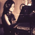 Lucy Hale -Pretty Little Liars Star in the recording studio