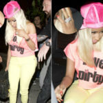 Photo of Nicki Minaj Spotted in Beverly Hills with Diamond Ring On